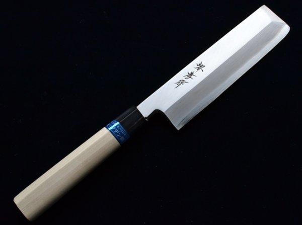 Photo2: SAKAI TAKAYUKI INOX stainless Magnolia wood Japanese Usuba vegetable knife