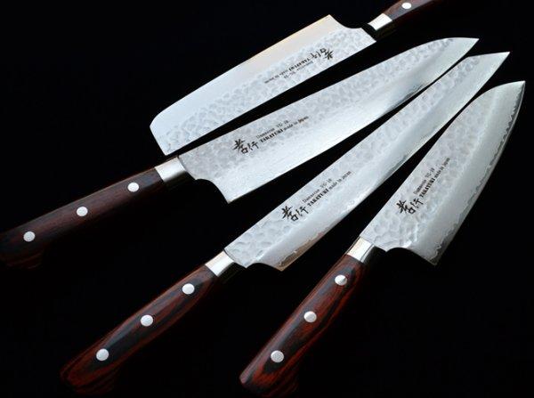 Photo1: SAKAI TAKAYUKI hammered Damascus 33 layer VG-10 Japanese knife any type