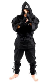 Japanese Ninja suit Uniform costume cotton 100% shinobi full set