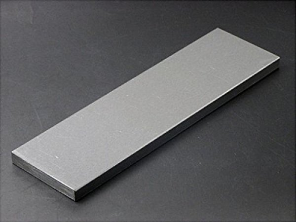 Photo1: Japanese Flattening Plate cast iron carbon steel Kanaban Tsunesaburo 75 x 255 x 11.5 mm