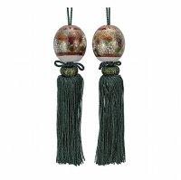 Weight for Japanese hanging scroll FUCHIN stone Kutani porcelain hanazume kin