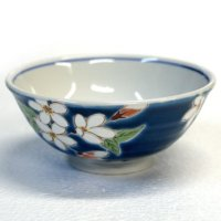 Kutani porcelain Japanese rice noodle bowl var. patterns H5.0cm