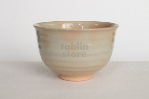 Photo1: Mino yaki ware Japanese tea bowl Danme irabo chawan Matcha Green Tea