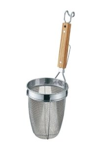 ramen strainer stainless steel shin noodle for professional long type 140 x 185 mm