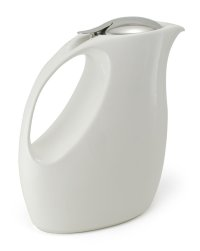 Japanese ceramics retro tea pot ZEROJAPAN white 1500 ml