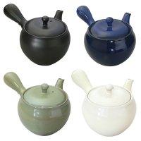 Banko pottery Japanese tea pot Kyusu yubi M 380 ml