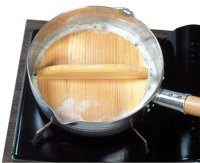 Japanese natural wood lid cover for nabe pan Otoshibuta any size