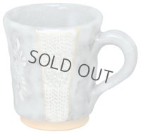 Kiyomizu Japanese pottery mug coffee cup kuroshinoinka 270ml