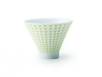 Mino ceramics Sencha wan Japanese tea cup asagao  80ml set of 2