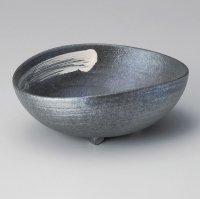 Ikebana Suiban Vase Tokoname Japanese pottery kokusai hakeme W 24cm