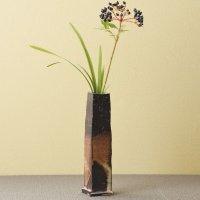 Tokoname Japanese pottery vase entotsu yohen ishido H18.5cm