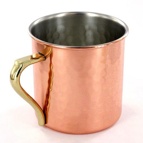 Photo2: Kiwami Copper Japanese Bar Mug hammered 360ml