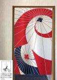 Photo2: Noren MS Japanese door curtain Japanese umbrella 85 x 150cm (2)
