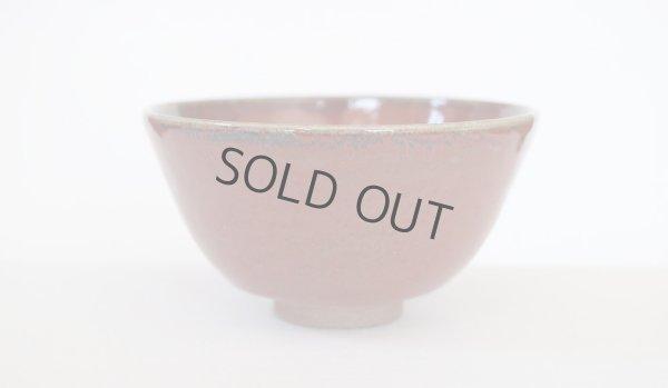 Photo2: Kiyomizu sd pottery Japanese matcha tea ceremony bowl shinsha red