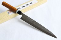 Yasuhiko Fujiwara Silver-3 steel Japanese Yanagiba Sashimi knife 210mm