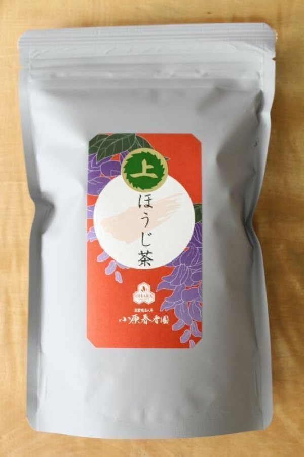 Photo5: High class Hojicha roasted green tea blend of First flush Shizuoka and Yame 200g
