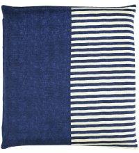 Japanese floor pillow cushion cover zabuton cotton meisen striped 55 x 59cm