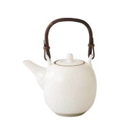 Arita pottery sd Dobin Japanese tea pot white kesho 500ml