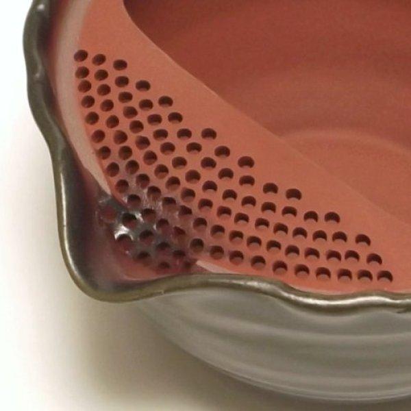 Photo2: Tokoname yaki ware Japanese tea pot Tukumo ceramic tea strainer 310ml