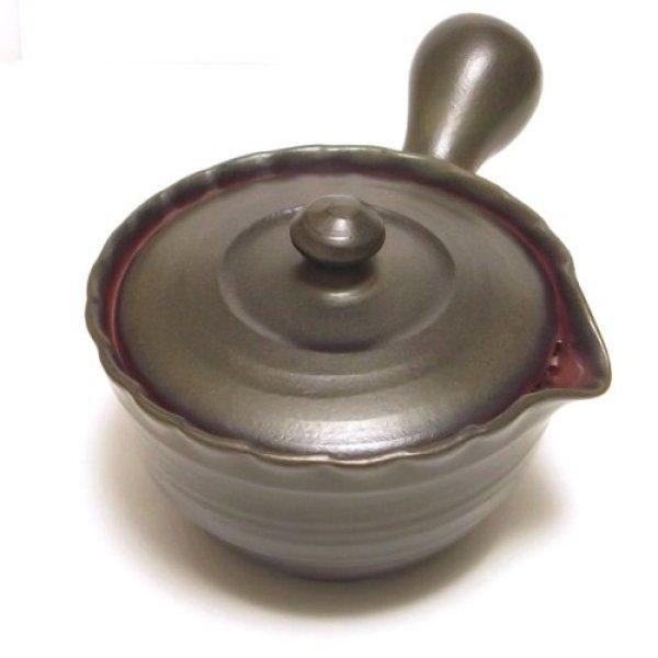 Photo4: Tokoname yaki ware Japanese tea pot Tukumo ceramic tea strainer 310ml