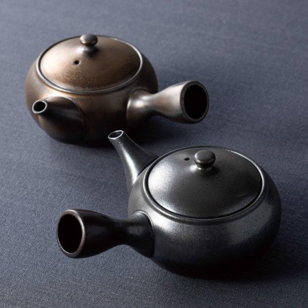 Photo1: Tokoname Japanese tea pot Jinsui hiyoko shudei 230 ml
