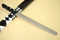 Misono Molybdenum stainless Japanese kitchen Wave bread knife any size