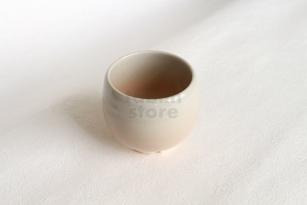 Photo1: Hagi Japanese pottery yunomi tea cup hime kumidashi sencha wan 200ml
