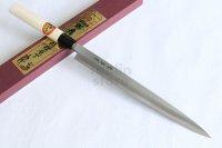 SAKAI TAKAYUKI kasumitogi white steel Fugu hiki Sashimi knife variety of sizes