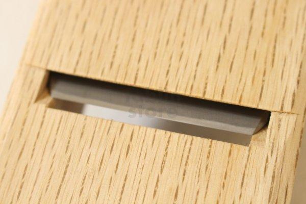 Photo2: Japanese smoothing plane Tsunesaburo Shunran hand hammer blue 1 steel ko kanna