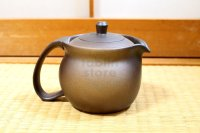 Shikou tea pot Japanese Fujiso pottery banko Yakishime 450 ml
