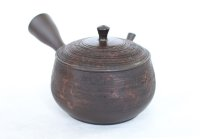 Tokoname YT Japanese tea pot kyusu Gyokko pottery tea strainer hidasuki 150ml