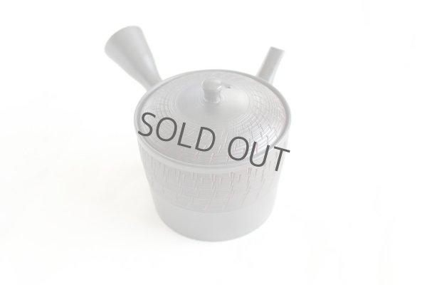 Photo2: Tokoname Japanese tea pot kyusu Gyokko pottery tea strainer black biri shu 240ml