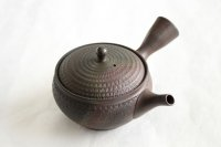 Tokoname Japanese tea pot kyusu Gyokko pottery tea strainer youhen biri hi 250ml