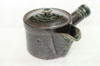 Arita imari sd Porcelain Japanese tea pot kyusu kurooribe tokudai 430ml