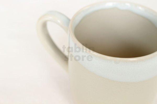 Photo2: Hagi yaki ware Japanese pottery mug coffee cup himedo 330ml