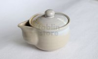 Hagi ware Japanese tea pot kyusu pottery tea strainer himedo hohin 200ml