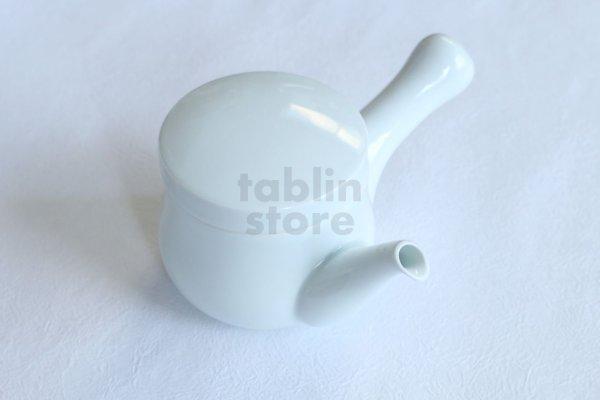 Photo1: Hasami Porcelain sk Japanese tea pot white ceramic torso 360ml
