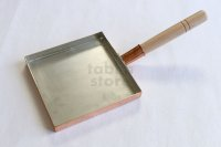 Professional Tamago Egg Copper Pan square thin type any size Endo Japan
