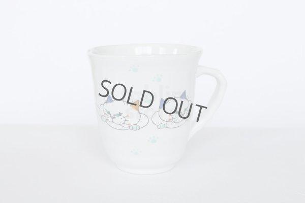 Photo1: Kutani Porcelain Japanese mug coffee tea cup couple D9cm