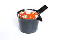 Arita Porcelain Japanese tea pot Shunjyu red S type strainer black 375ml