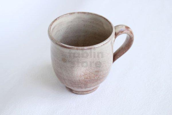 Photo1: Hagi Senryuzan climbing kiln Japanese pottery mug coffee cup ekubo go