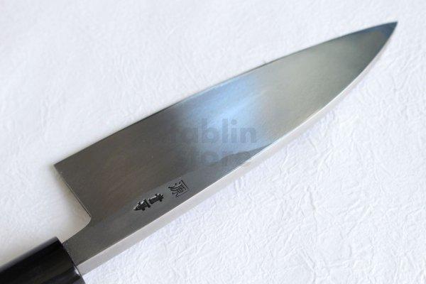 Photo2: Shigeki Tanaka Blue 2 steel Kasumi Deba knife any size
