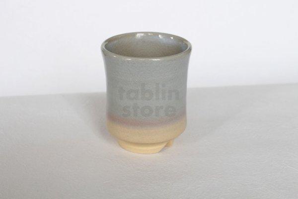 Photo2: Hagi ware Senryuzan climbing kiln Japanese tea cups yunomi gradation set of 2