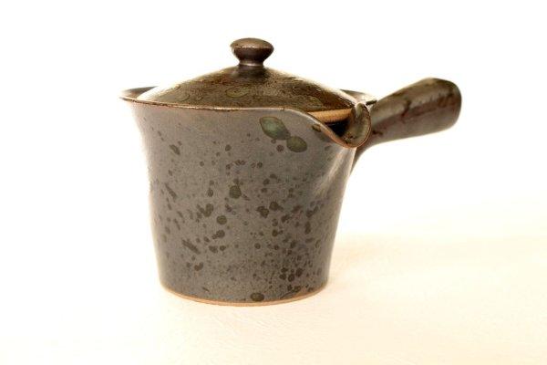Photo2: Arita imari sd Porcelain Japanese tea pot kyusu kokuyu raku 280ml