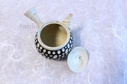 Other Images2: Tokoname ware Japanese tea pot kyusu ceramic strainer YT Kenji mizutama 380ml