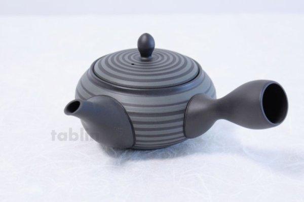 Photo1: Tokoname yaki ware Japanese tea pot Horyu ceramic tea strainer 280ml