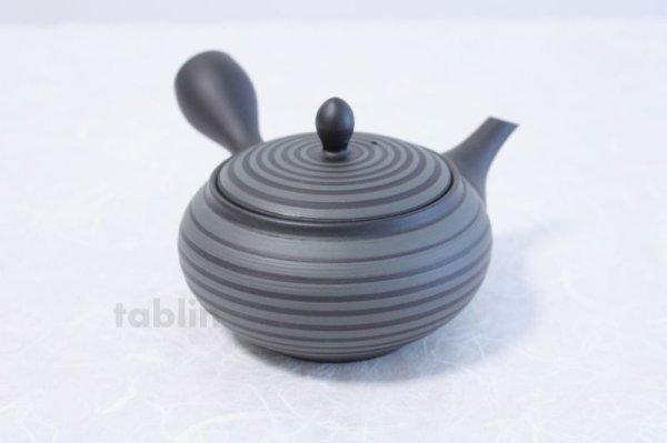 Photo3: Tokoname yaki ware Japanese tea pot Horyu ceramic tea strainer 280ml