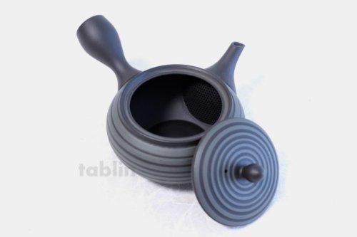 Other Images1: Tokoname yaki ware Japanese tea pot Horyu ceramic tea strainer 280ml