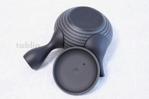 Photo5: Tokoname yaki ware Japanese tea pot Horyu ceramic tea strainer 280ml