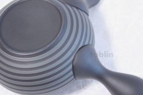 Other Images2: Tokoname yaki ware Japanese tea pot Horyu ceramic tea strainer 280ml